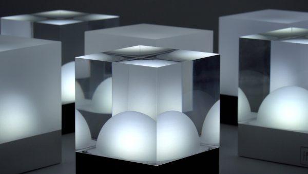Kaltweiß LED Tischlampe