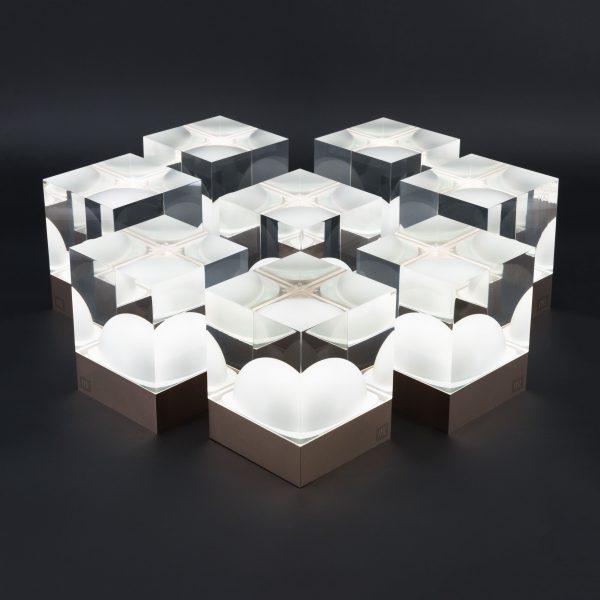 FRIZ Lights CUBE Bundle Set XL, transparent