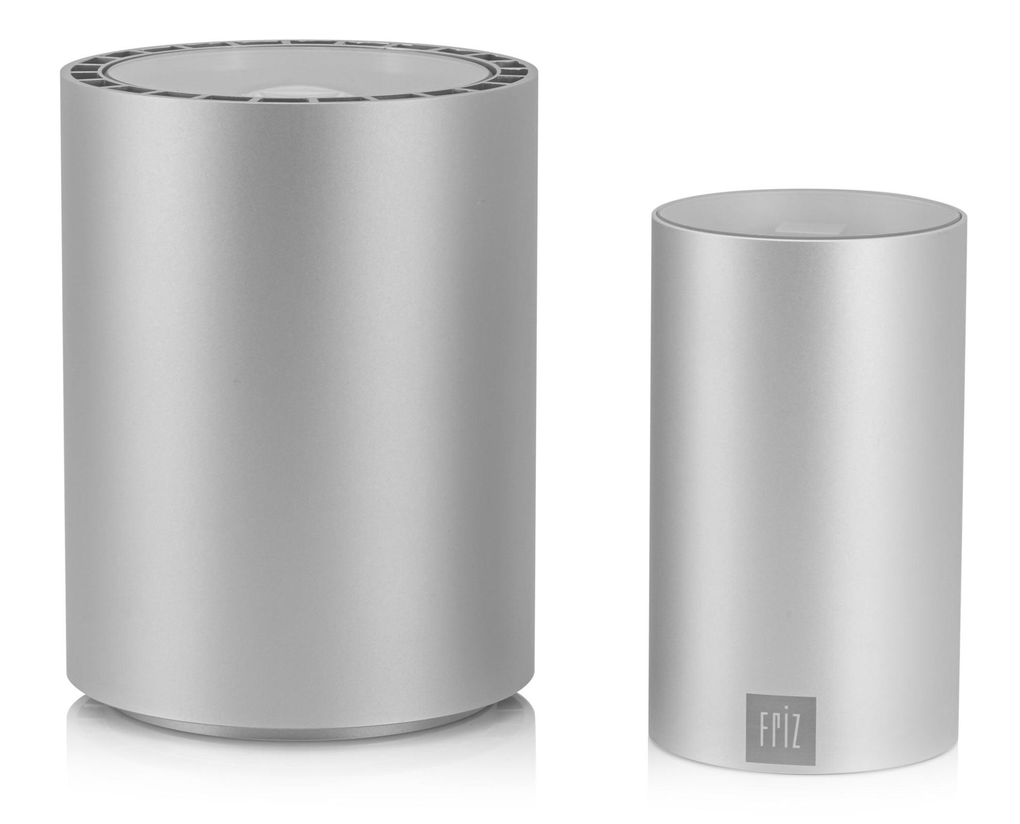 FRIZ CAN und PowerCAN LED Strahler kabellos mit Akku in Silber