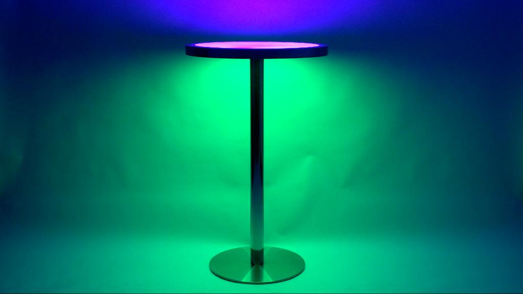 Dual beleuchteter Tisch TABLE ohne Kabel mit Akku