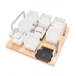 Tray Tragetablett Tablett für CUBE Tischleuchten